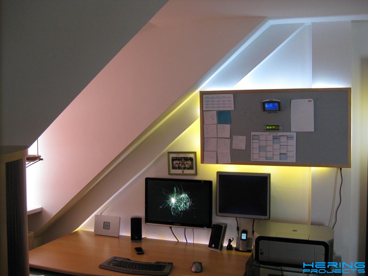 DIY Pinnwand mit Beleuchtung 2