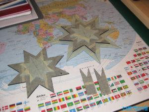 Plexiglas Stern aussägen