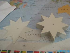 Plexiglas Stern lackieren