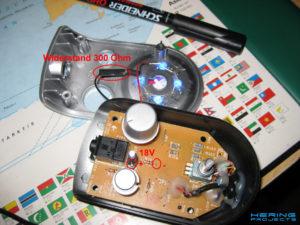 Z-2300 LED anschluss