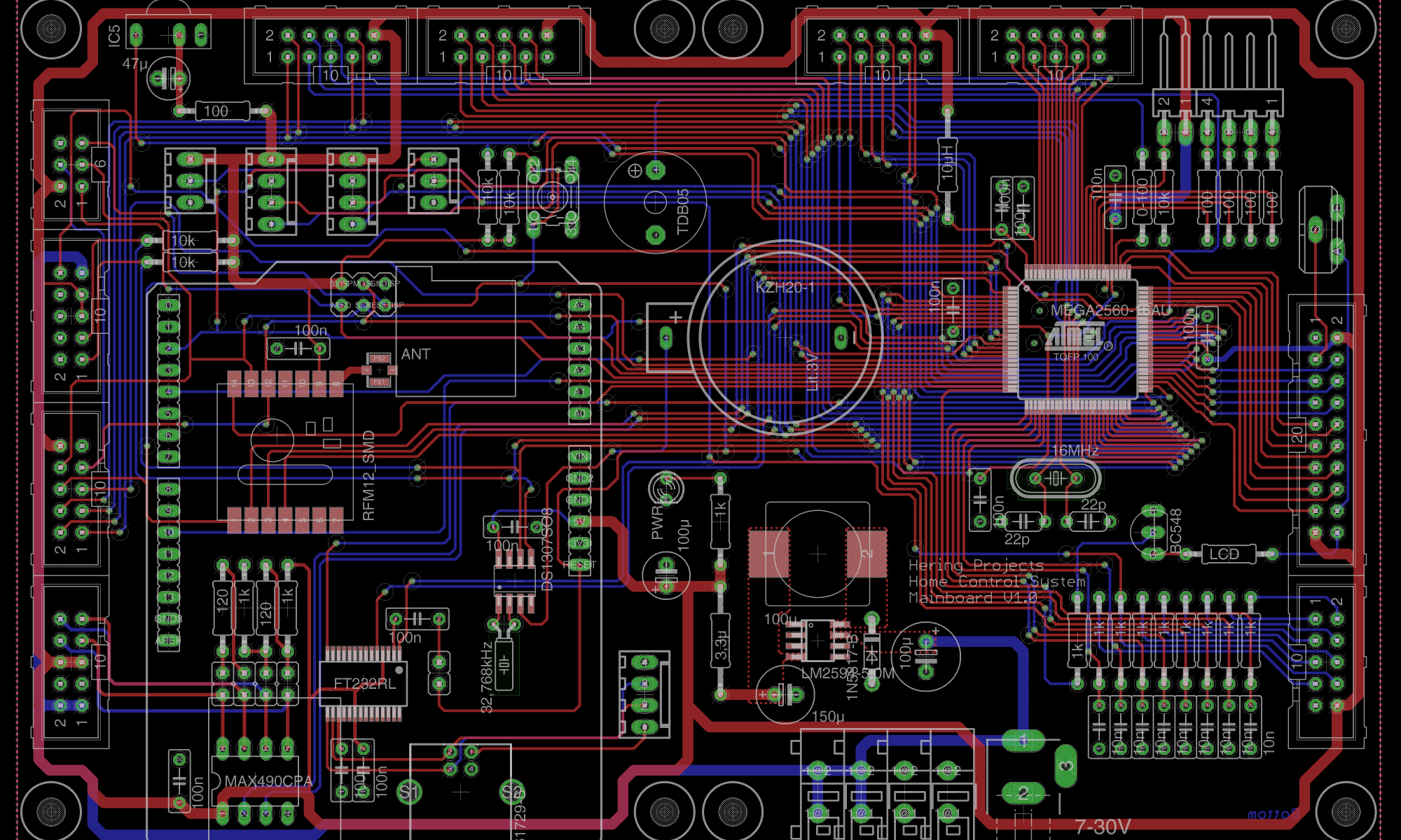 Home Control System Mainboard V1.0