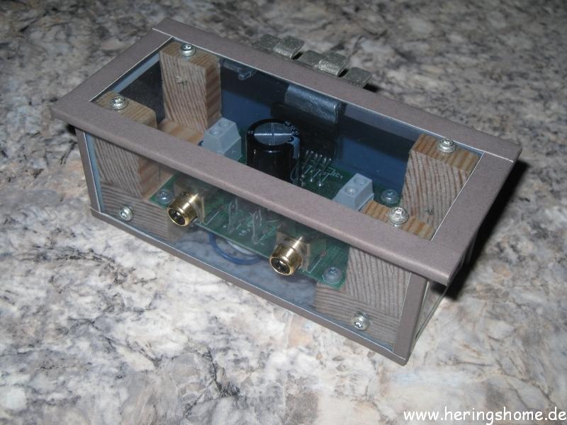 Mini Audio Verstärker Gehäuse