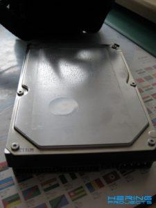 Festplatte ohne Aufkleber