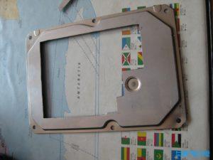 Festplattendeckel ausgesägt
