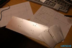 Aluminium Konstruktion Rohmaterial