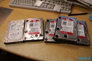 Neue Festplatten WD Red und Seagate Archive HDD