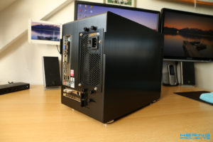 LianLi PC-Q25B Rückseite