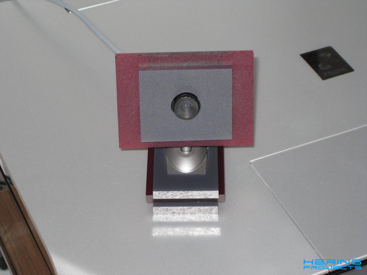 Plexiglas Gehäuse für eine Webcam