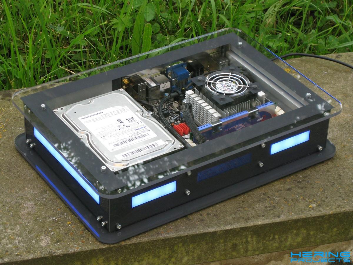 Plexiglas Mini ITX Gehäuse Shine