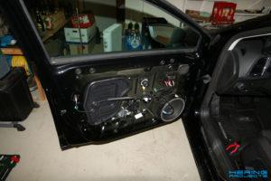 Seat Leon 5F Türen dämmen Ausgangszustand