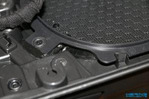 GLADEN Audio Aero-Fill Verarbeitung Türpappe