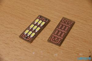 SMD LED Platine