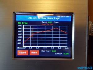 Reflow Ofen Controller Screenshot 1