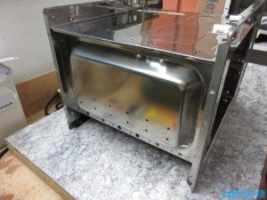 Reflow Ofen Löcher bohren in das Mikrowellengehäuse