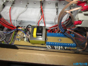 Reflow Ofen Elektronik Anschlussklemmen