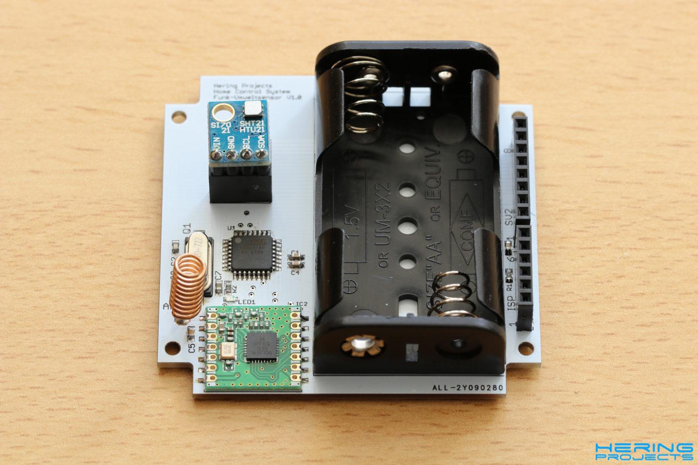 Smart Home Platine Funk-Umweltsensor
