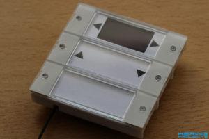 Endmontage des Schalters mit Tasterwippen