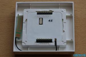 Antenne in Rahmen einsetzen