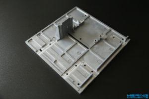 KS230 Umbau Originalplatte fräsen