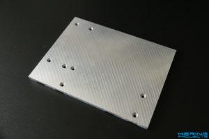 KS230 Umbau Zusatzplatte Bohrungen
