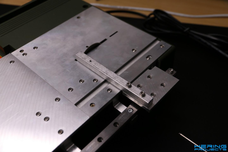 KS230 Umbau Winkelanschlag montiert