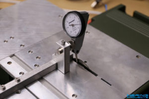 KS230 Umbau Einstellung Linearführung