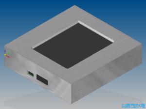 CAD Gehäuse Reflow Ofen Steuerung
