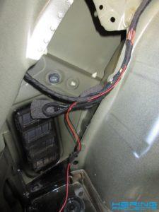Anhaengerkupplung Vorbereitung CAN Bus Leitung Seat Leon 5F