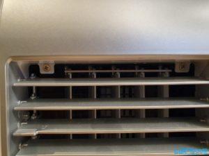 Klimagerät PAC 2000 E Schrauben entfernen Frontcover