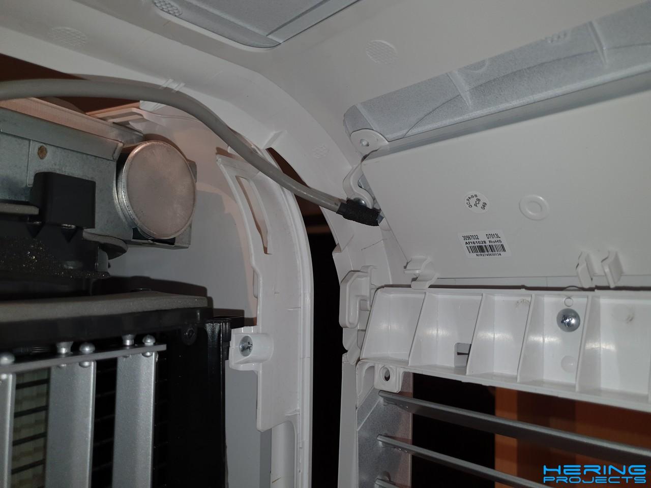 Klimagerät PAC 2000 E Leitung Bedienpanel