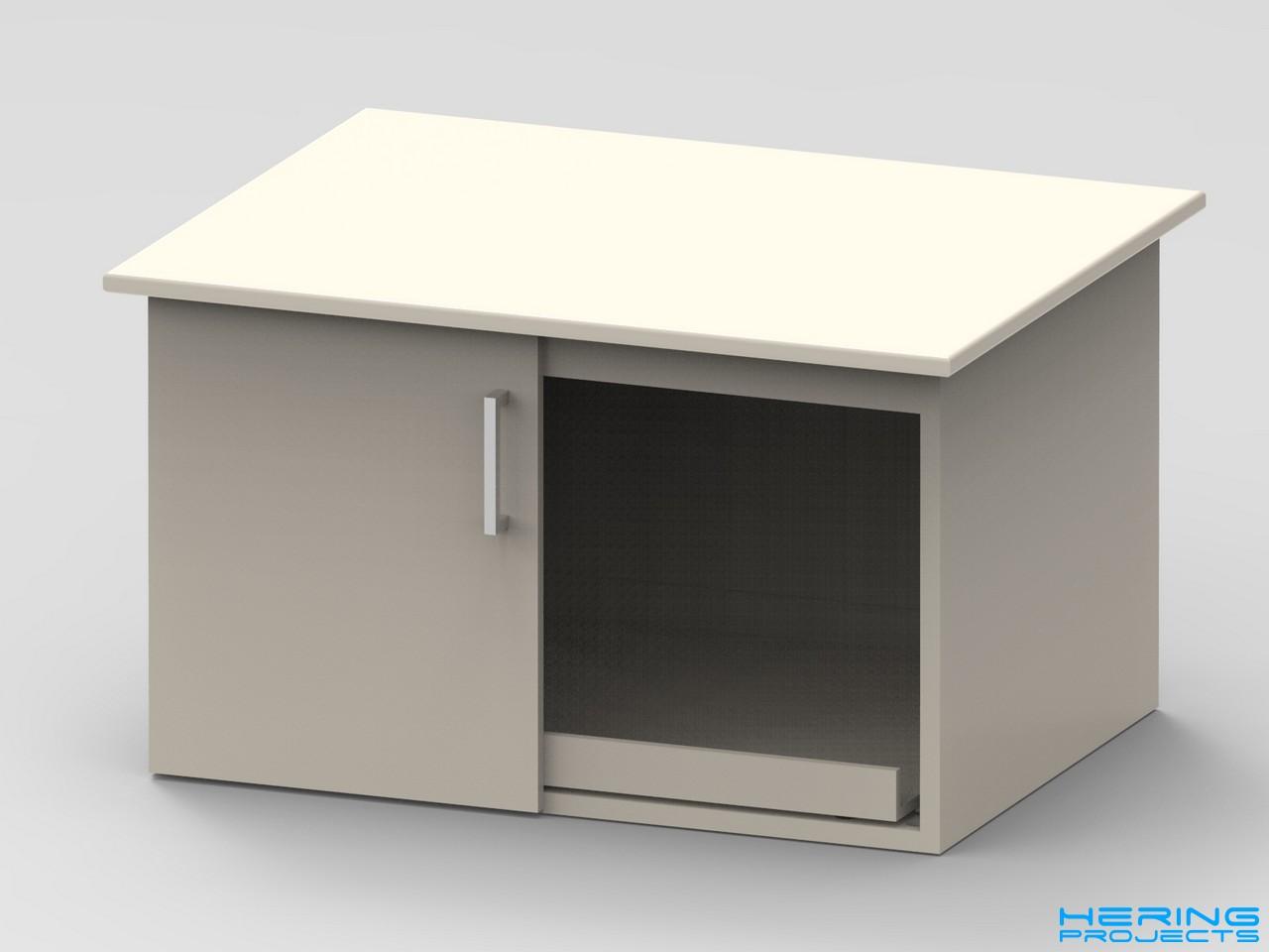 Saegetisch Untergestell CAD Render