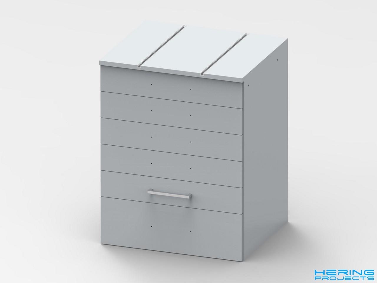 Tischbohrmaschine Untergestell CAD Render